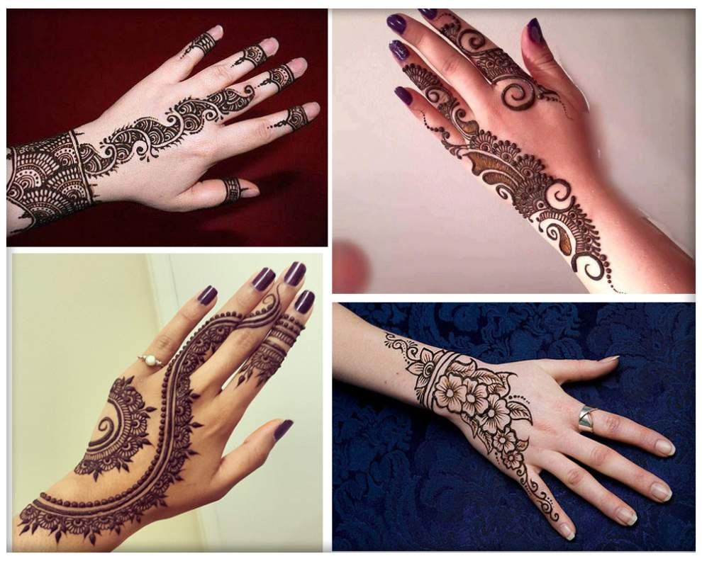 Mehndi Patterns What Are They : Full hand mehndi designs archives artistica