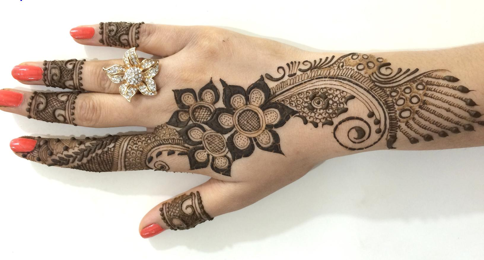 Arabic Mehndi Designs For Hand : Arabic mehndi designs archives artistica