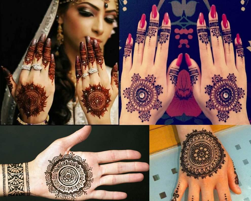 Round Flower Mehndi Designs : Latest mehndi designs archives artistica