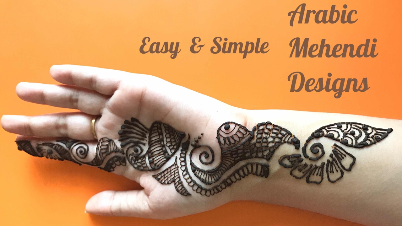 Mehndi Designs Arabic Simple And Easy : Simple designs archives mehndi artistica
