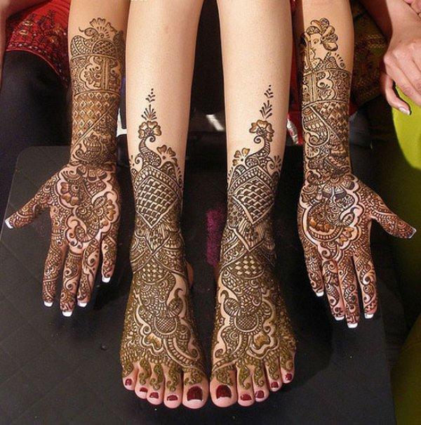 Latest Bridal Feet And Hand Mehndi Designs Mehndi Artistica