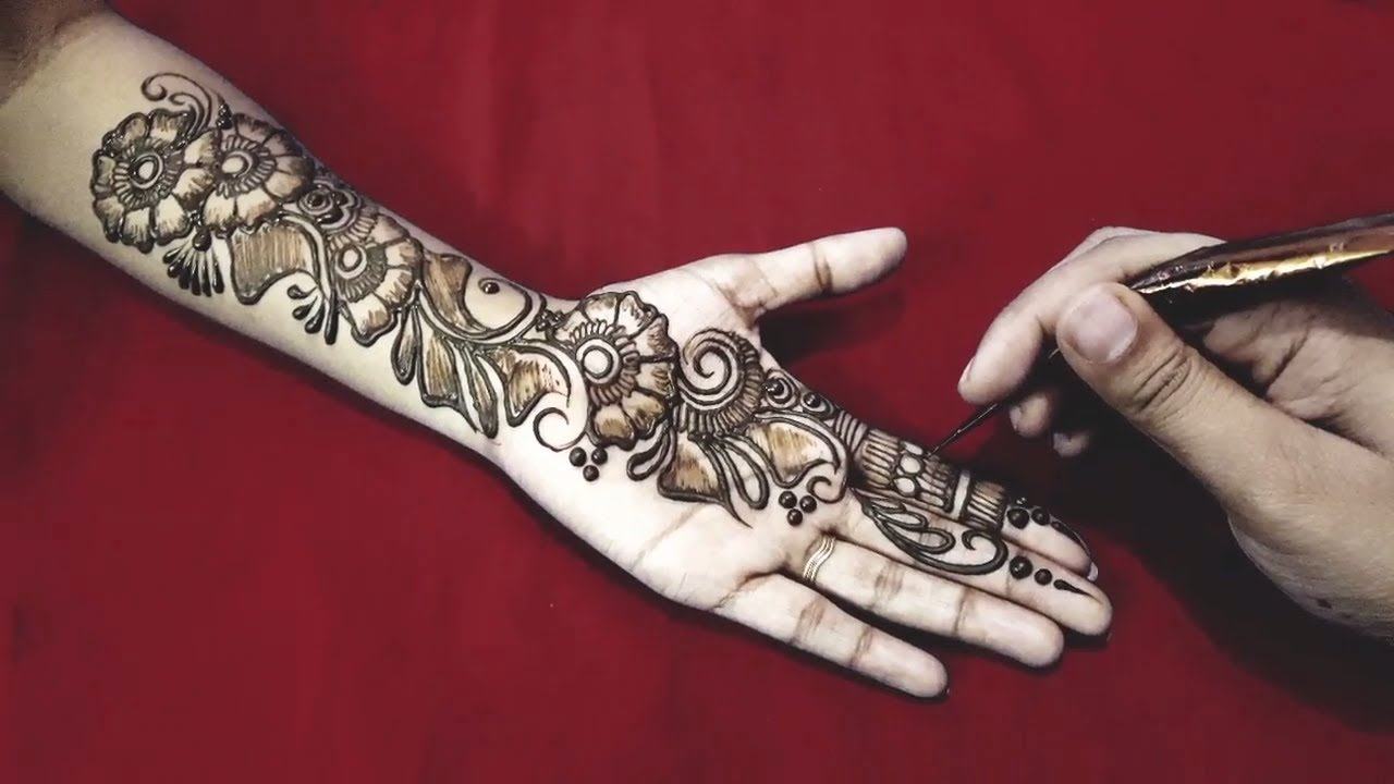 arabic easy mehndi designs for hands