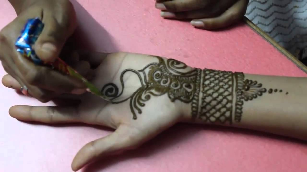 Arabic Mehndi Tutorial : Simple designs archives mehndi artistica
