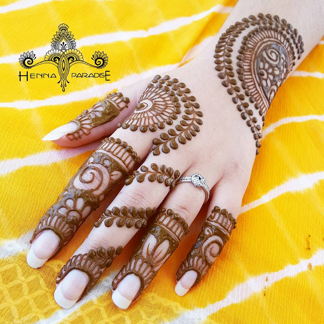 Stunning Back Hand Henna Designs For All Occasions Mehndi Artistica