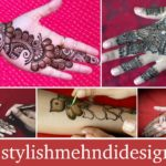 Top 10 Simple Arabic Henna Mehndi Design video tutorials
