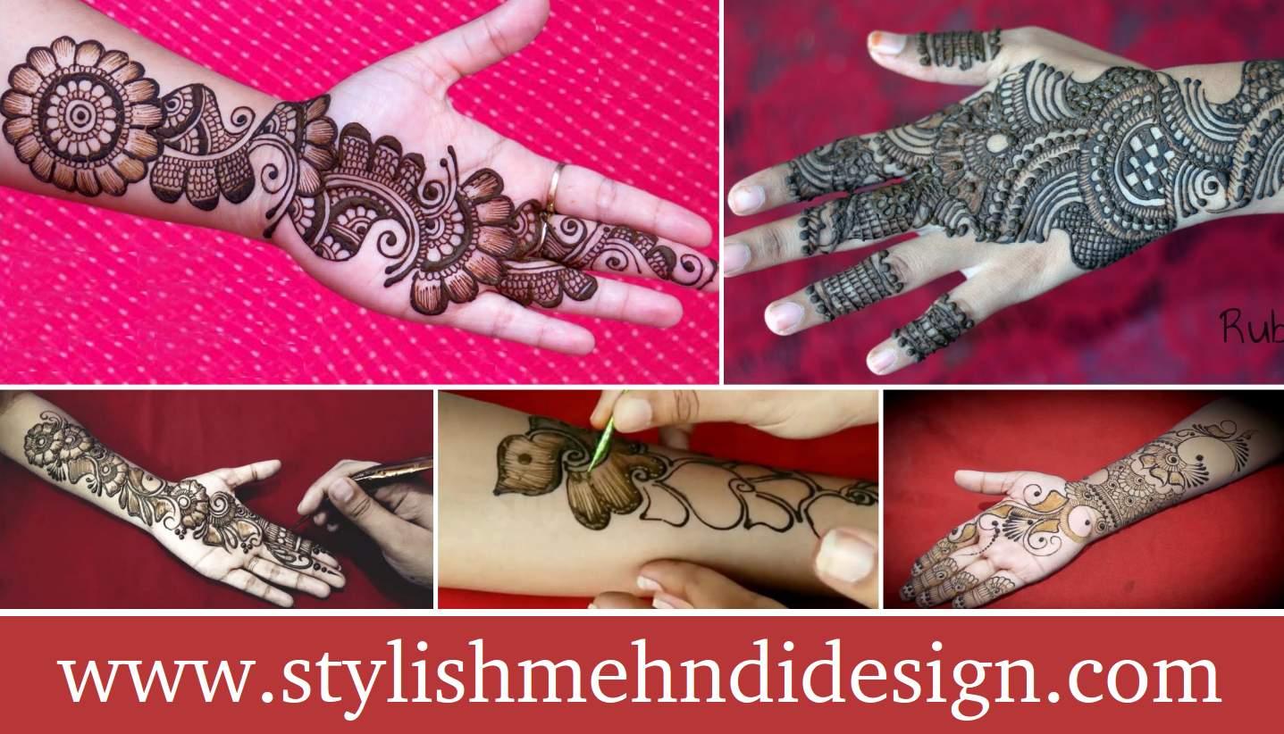 Finger Mehndi Design : Latest easy finger mehndi designs artistica