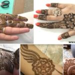 Top 5 Mehndi Design Step by step Video Tutorials