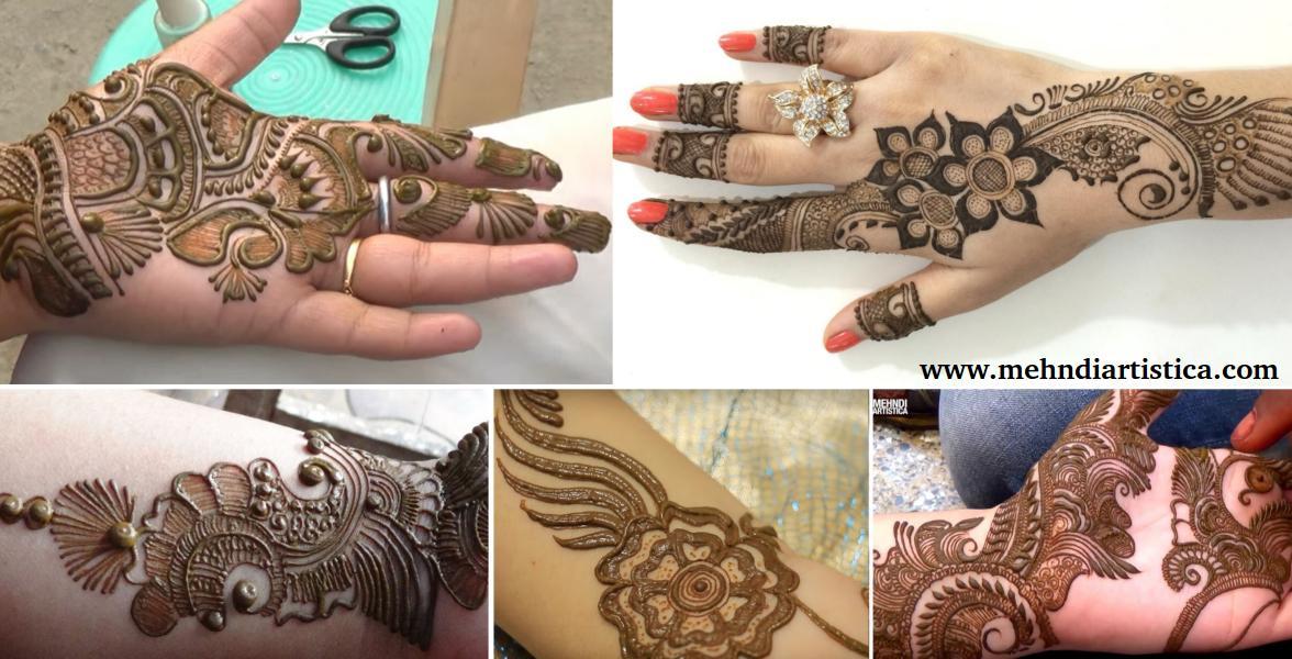 Mehndi Step By Step Designs : Top 5 mehndi design step by video tutorials artistica