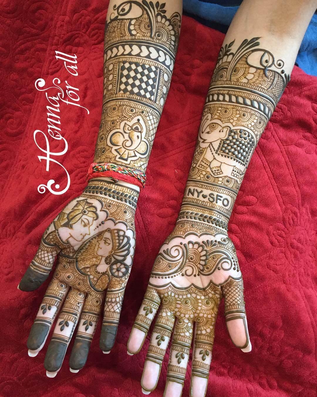 Bridal Mehndi 2017 : Arabic mehndi designs archives artistica