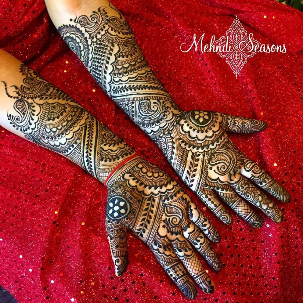 Mehndi For Front Hand Full : Full hand mehndi designs archives artistica