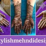 15 Bridal henna mehndi designs for full hand
