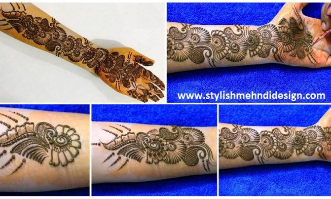 I Mehndi Henna Images : Beautiful henna mehndi design for hand step by
