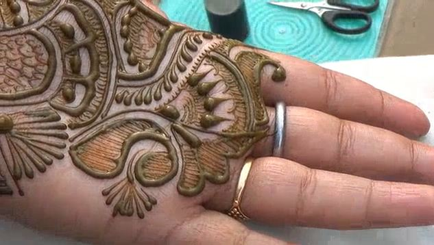 Henna Tattoo Tutorial : Latest indian arabic henna mehndi design step by tutorial