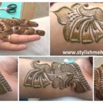 Latest Indian Arabic Henna Mehndi Design – Step By Step (Tutorial)