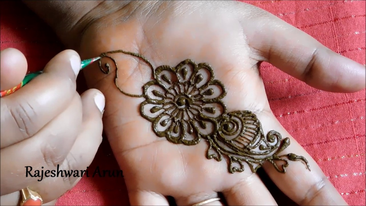 Simple Arabic Mehndi Designs For Beginners Home Homemade Ftempo