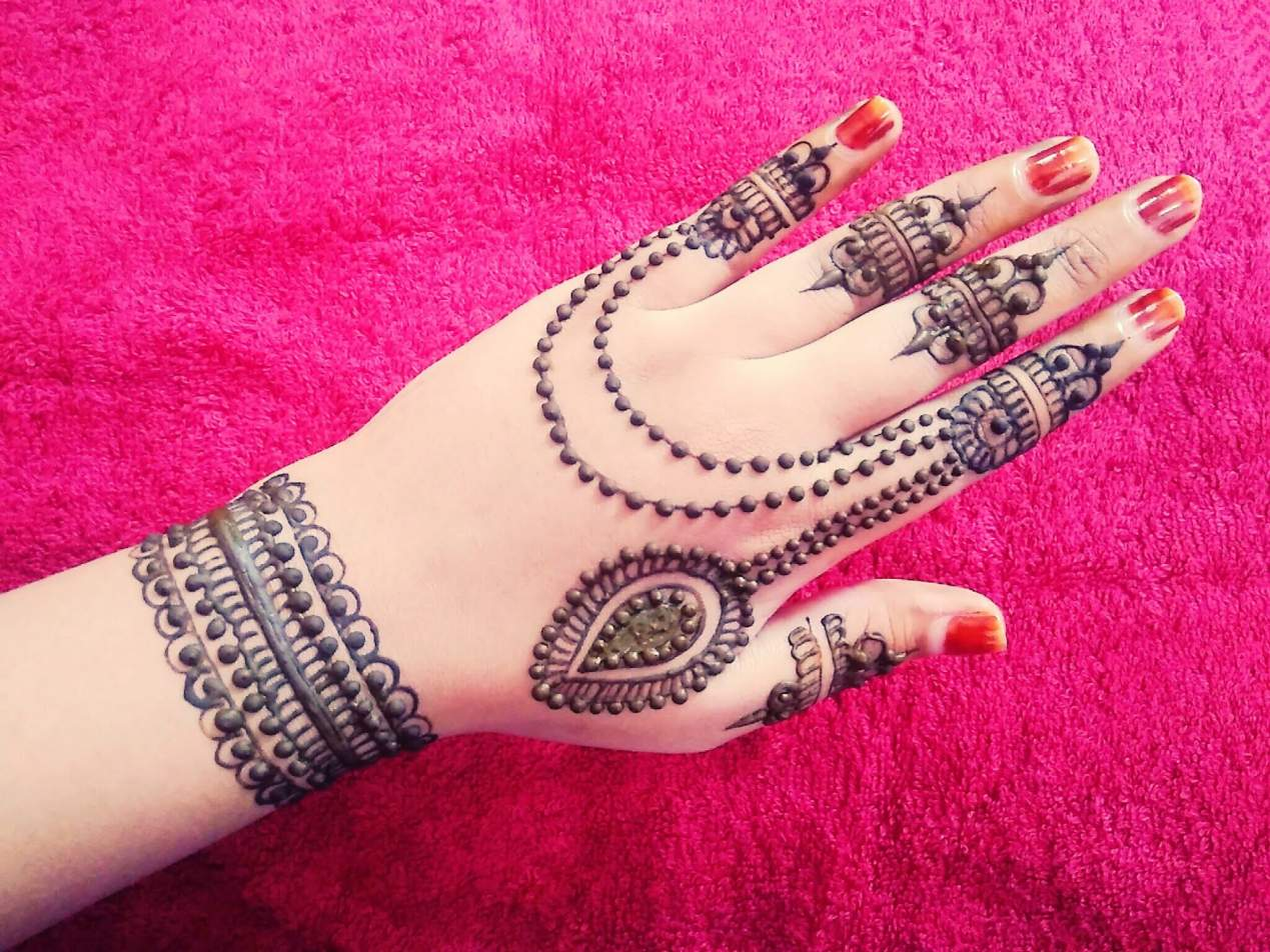 Mehndi Patterns What Are They : Jewellery henna designs archives mehndi artistica