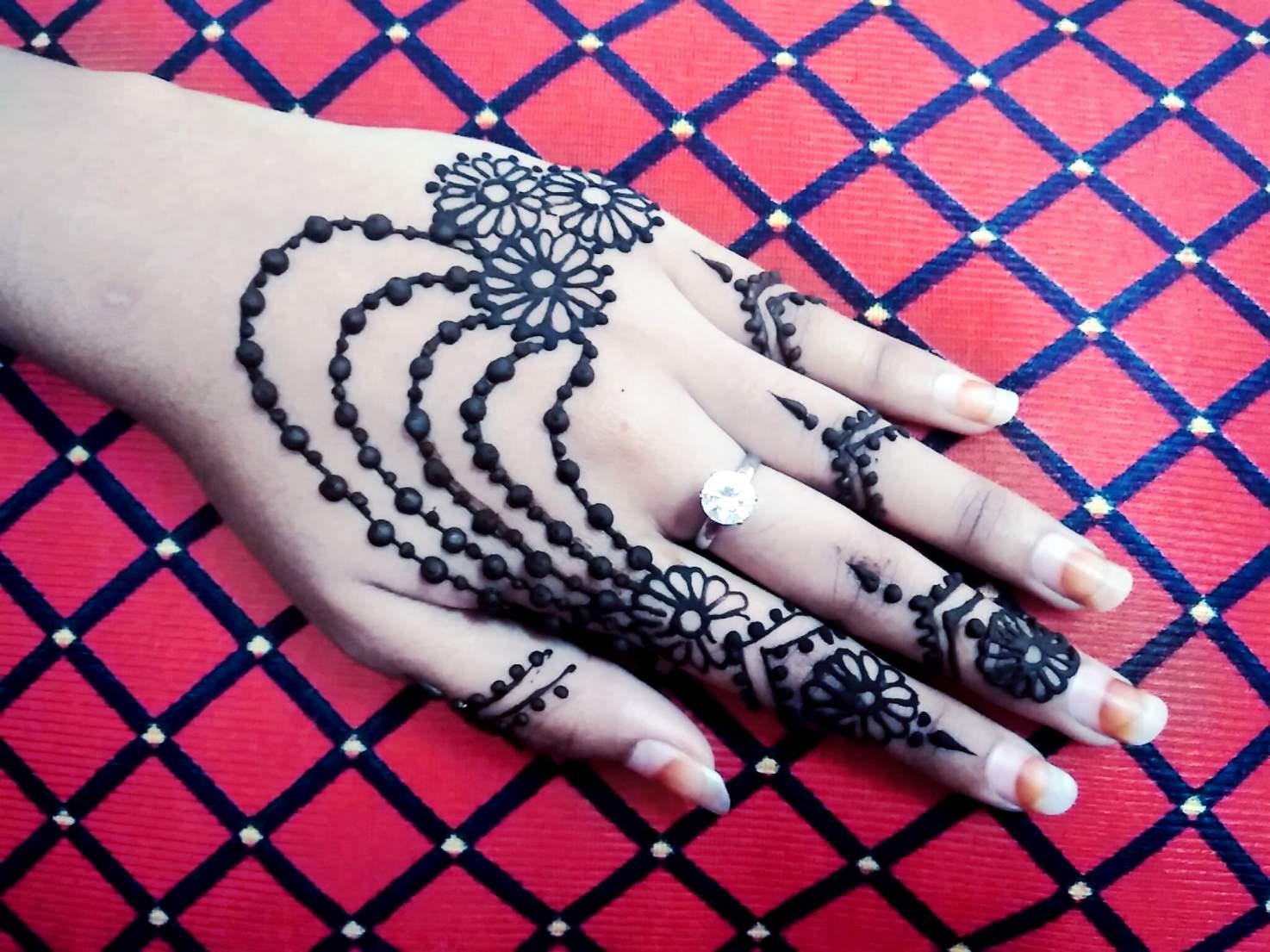 Beautiful Henna Mehndi Jewellery : Mehndi designs archives page of artistica
