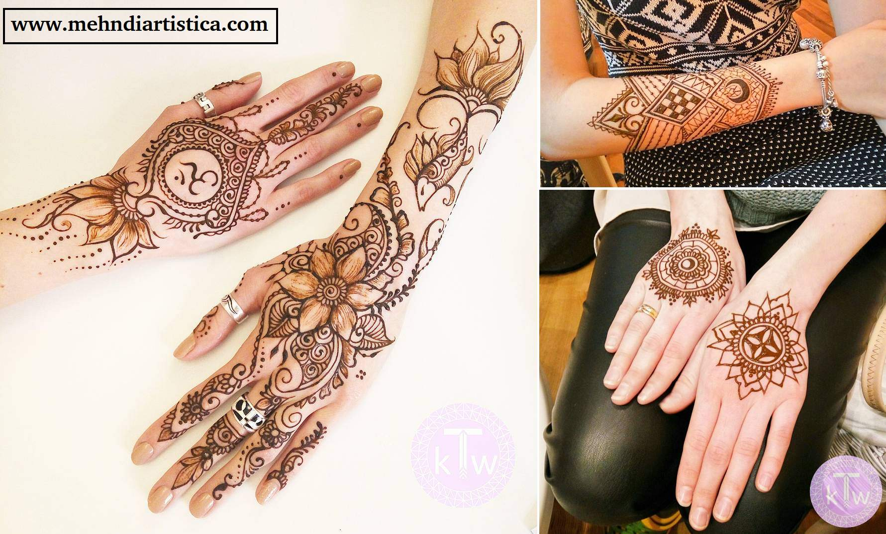 Mehndi Designs For Fingers Step By Step : Stylish & trendy henna mehndi design for hand artistica
